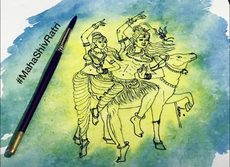 My love for colors - HaraHaraMahadev